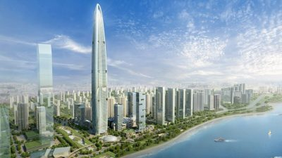 Wuhan Greenland by Adrian Smith + Gordon Gill